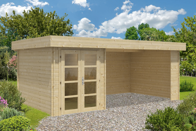 Mega Modern Log Cabin