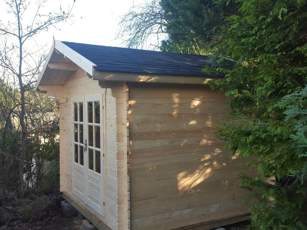 PErlund log cabin 28mm