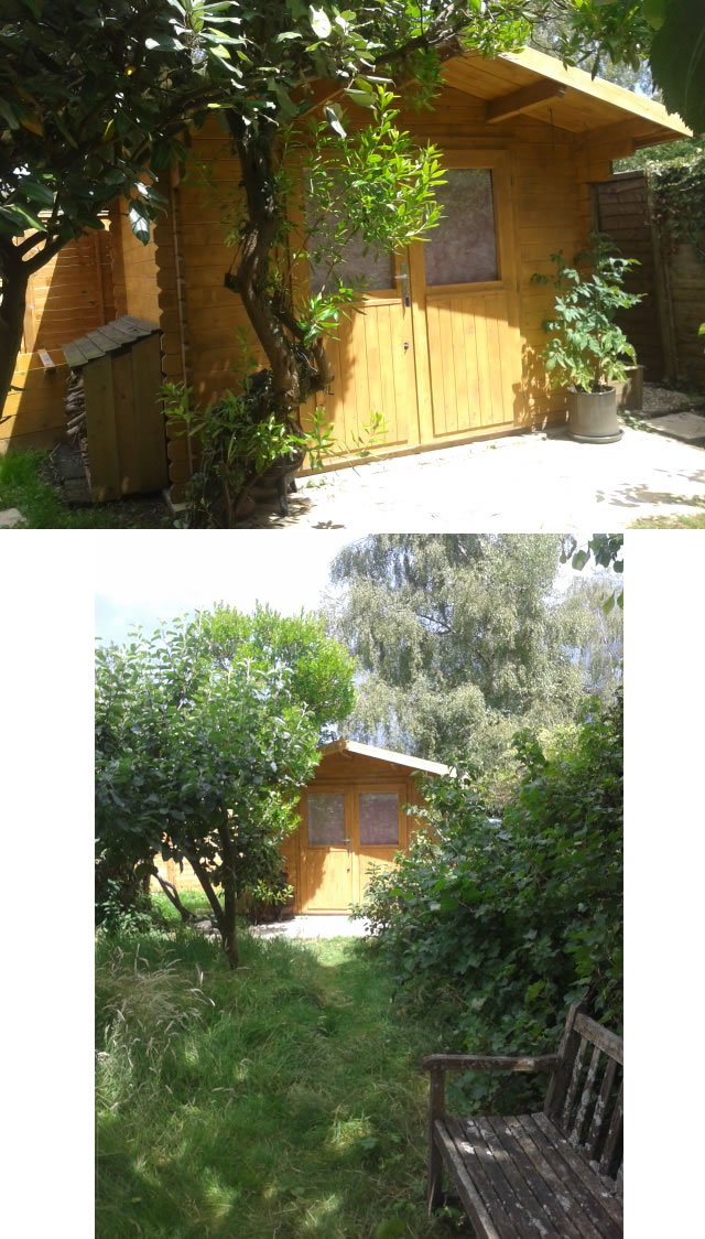 PEter log cabin montage