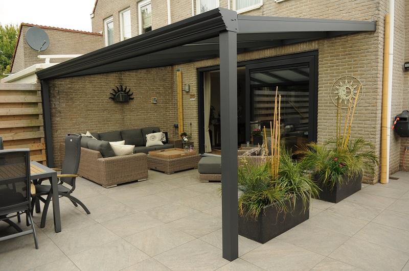 Polycarbonate Roofed Veranda