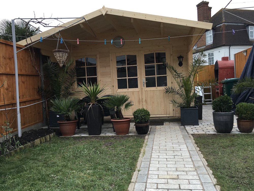 Rosenheim log cabin