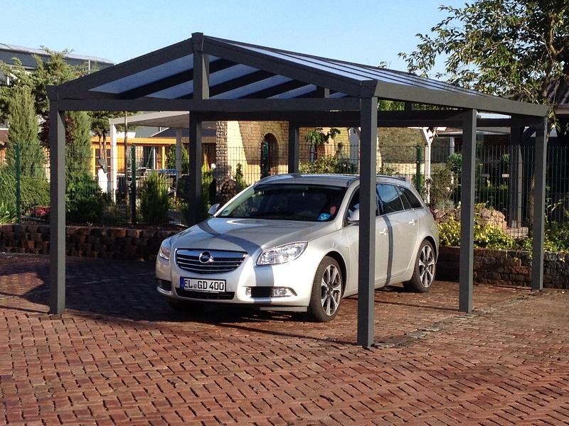 Aluminium Apex Carport/Gazebo