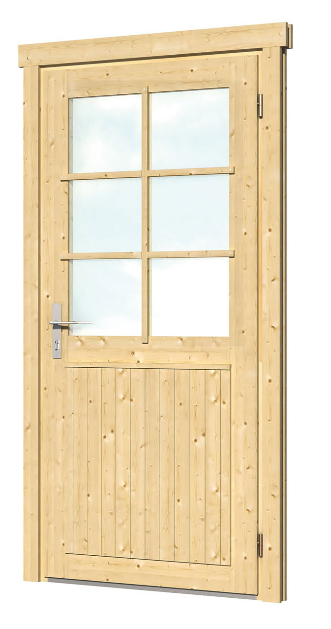 40.1987L/R Single Door EXTRA - W99 x H209cm  - Left or Right Handed