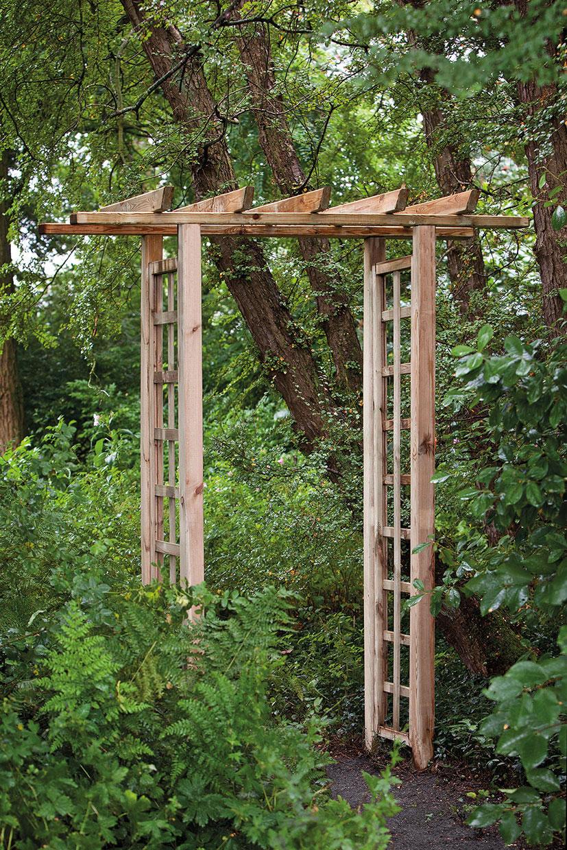 Rectangular Trellis Garden Arch