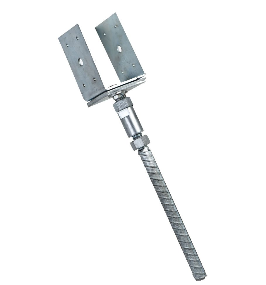 adjustable ground anchor
