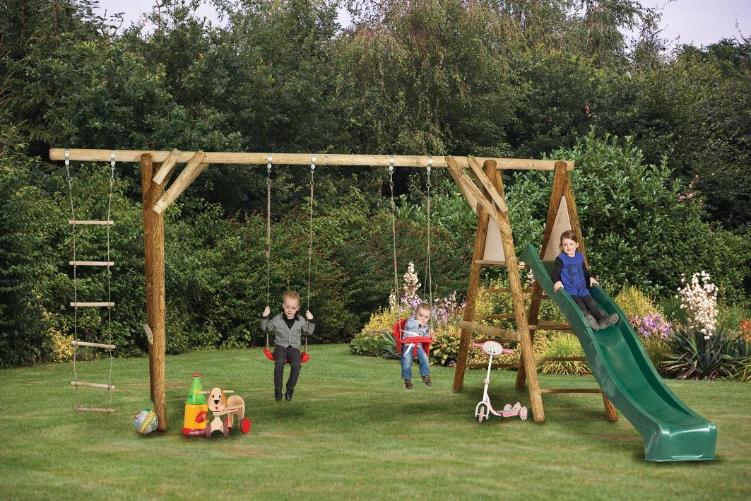 Antoine Garden Swing And Climbing Set