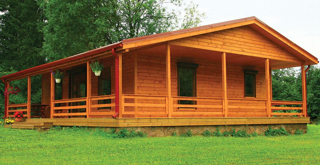 Bespoke Log Cabin in 70mm