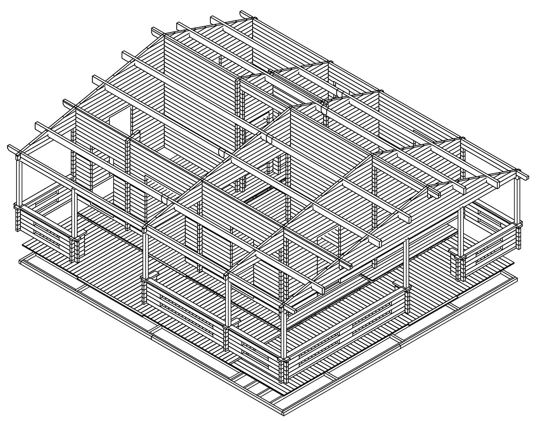 Bespoke Log Cabin plans