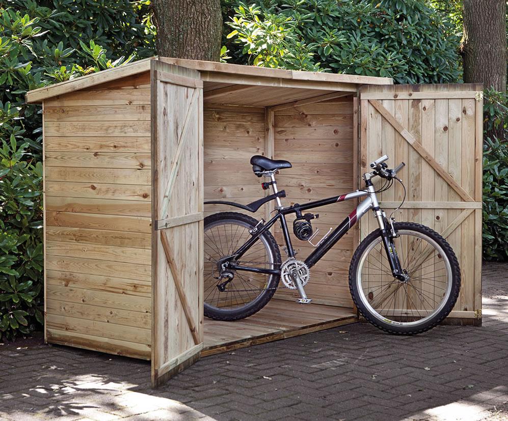Modern Bike Shed