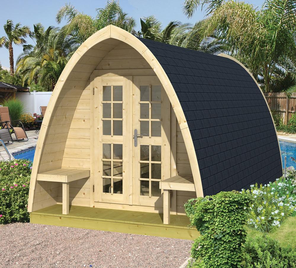 Log Cabin camping pod 480cm