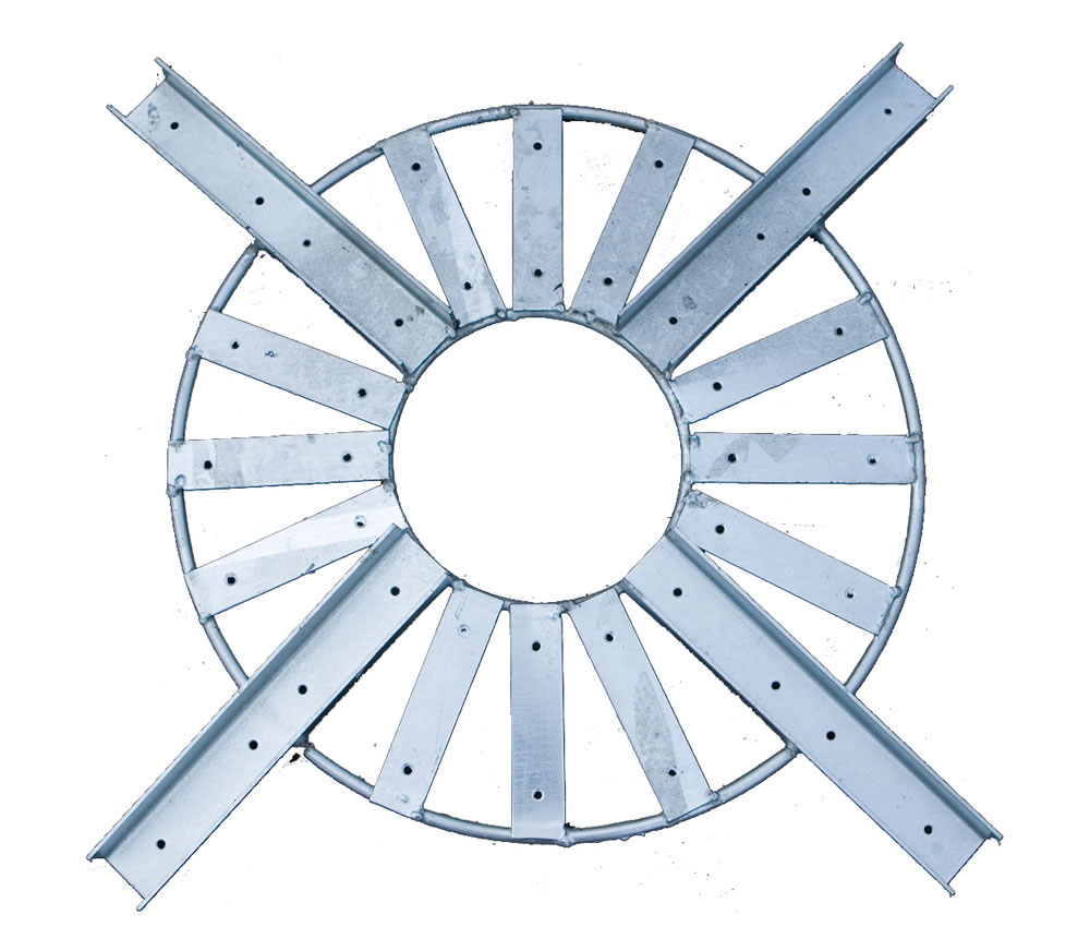 Circle pergola rose supporting bracket