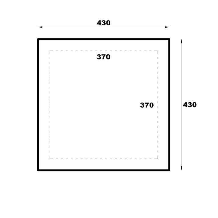 Syros  Gazebo Floor Plan