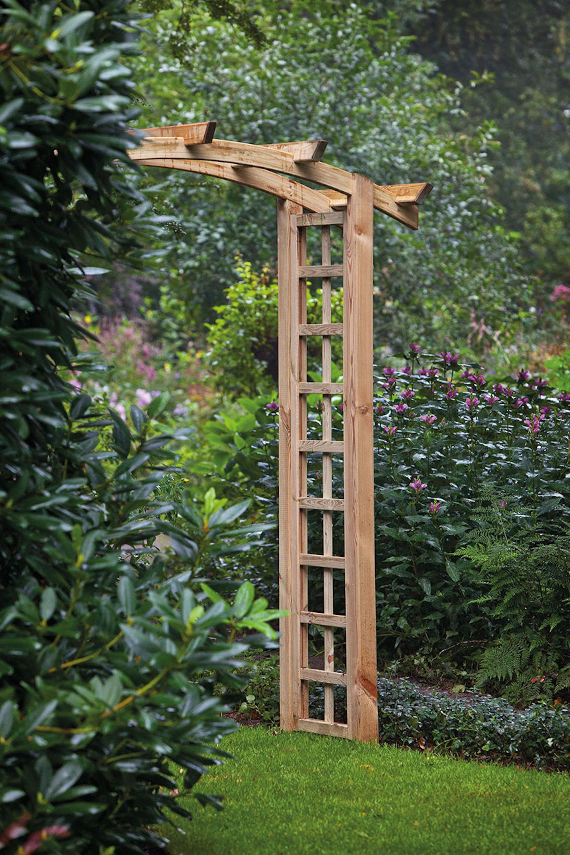Curved Garden Arch 120cm Wide