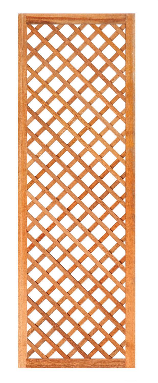 Diagonal hardwood trellis 60cm
