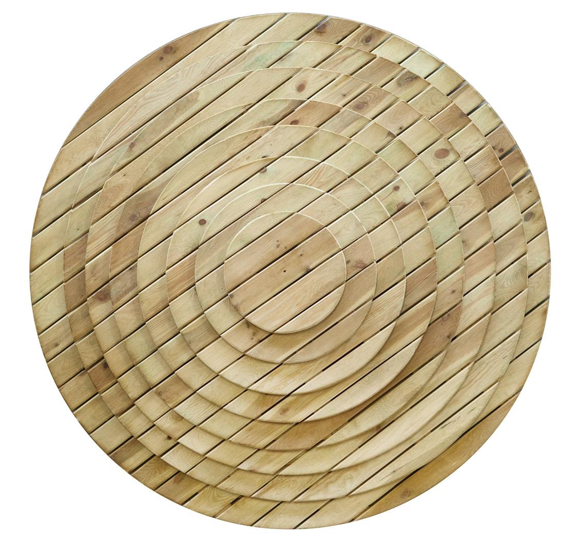 Decking Circle Tile