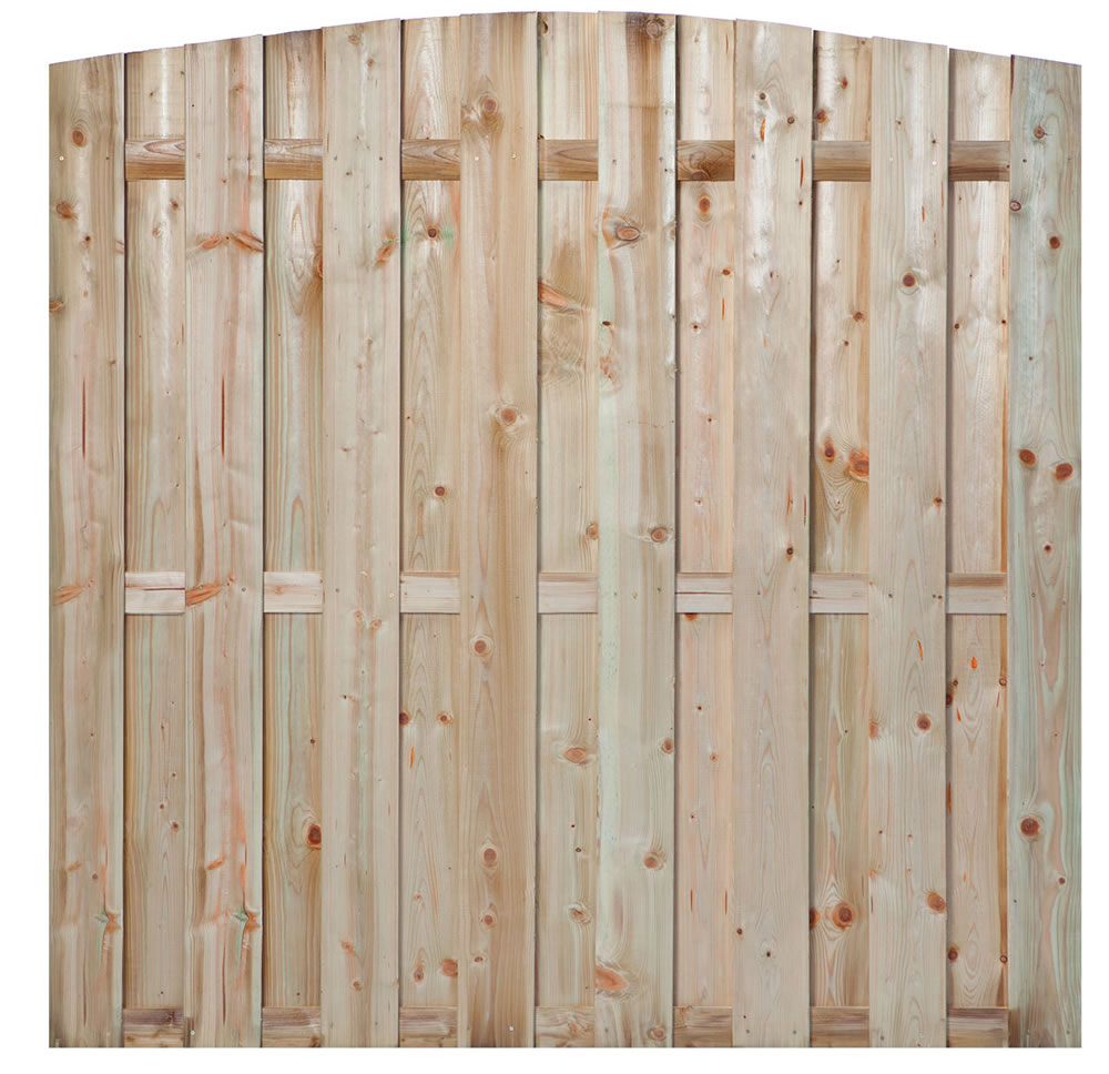 Den haag pressure treated fence panel
