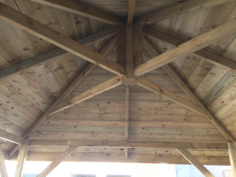 Do It Yourself Home Design: Economist Wooden Gazebo 3.4x3.4m