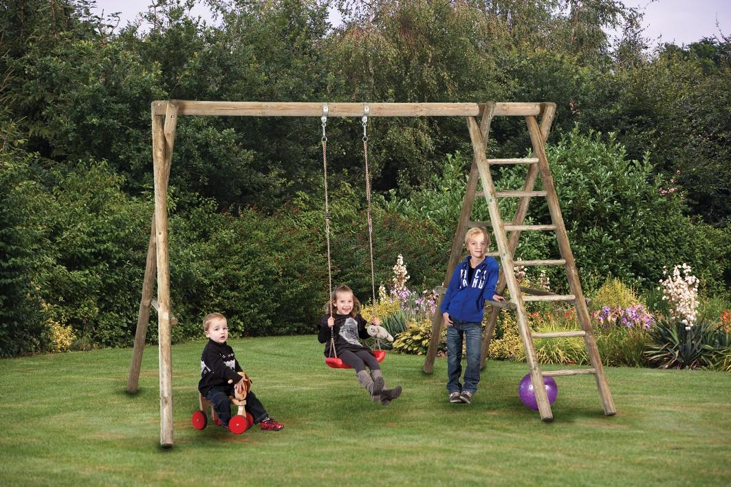economy outdoor swing frame economy swing frame economy swing - Wooden Swing Frame