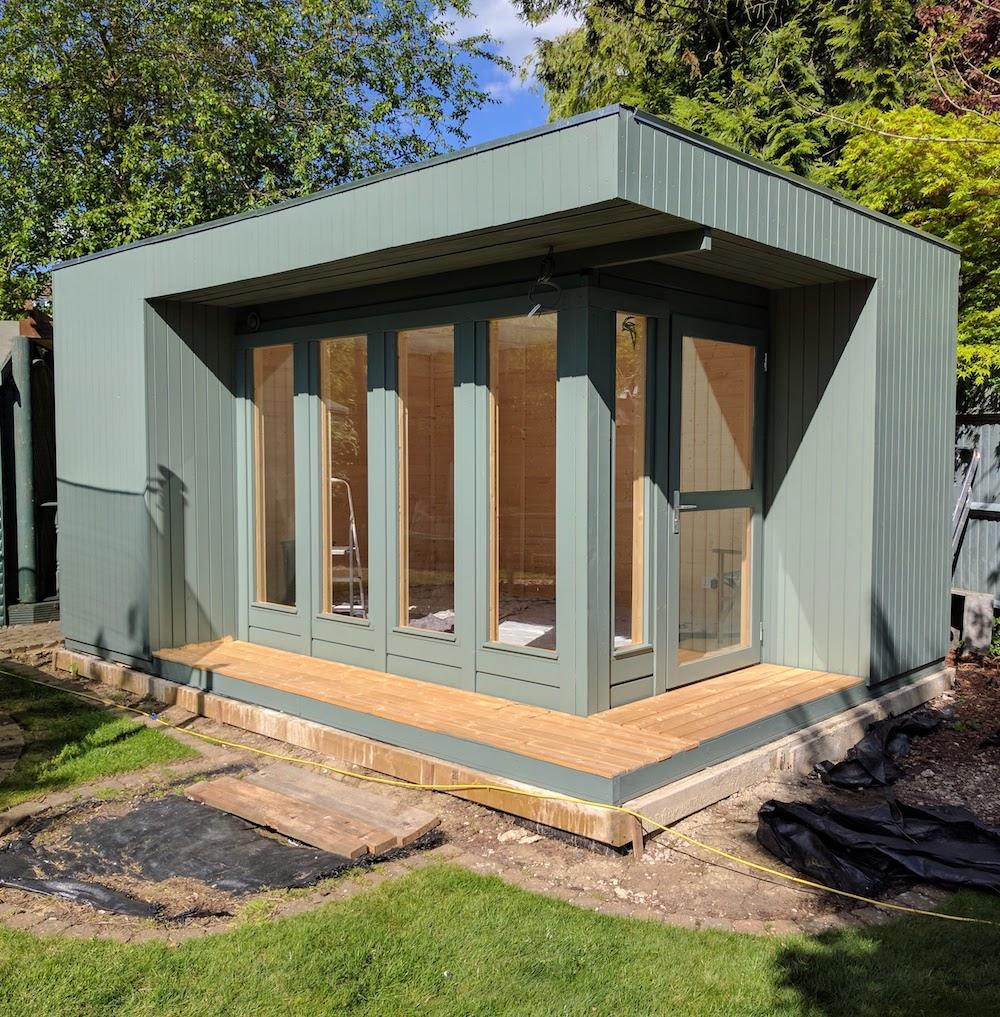 Elin garden office studio for Garden studio uk