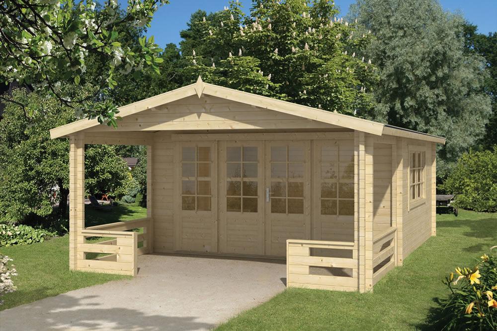 Ipswich log cabin