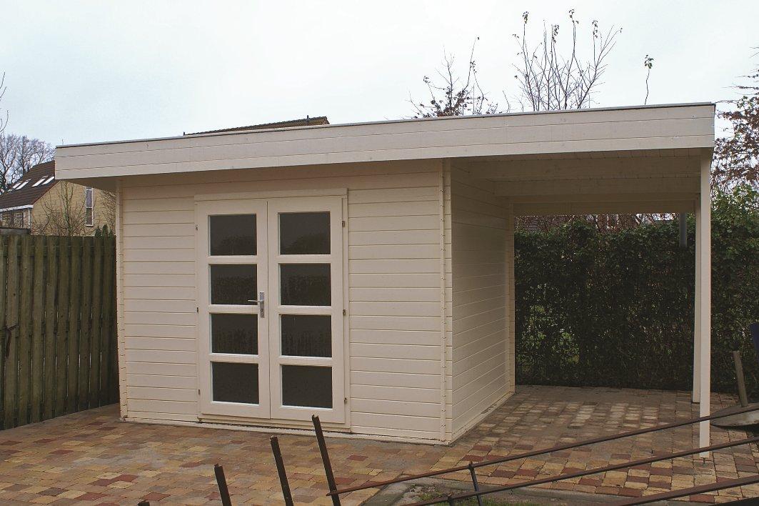 Extra Modern Log Cabin