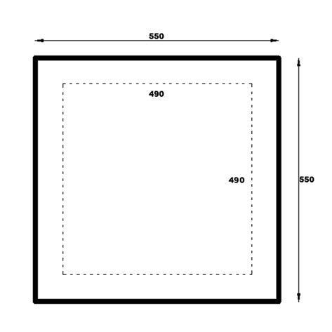 Rhodos Gazebo Floor Plan