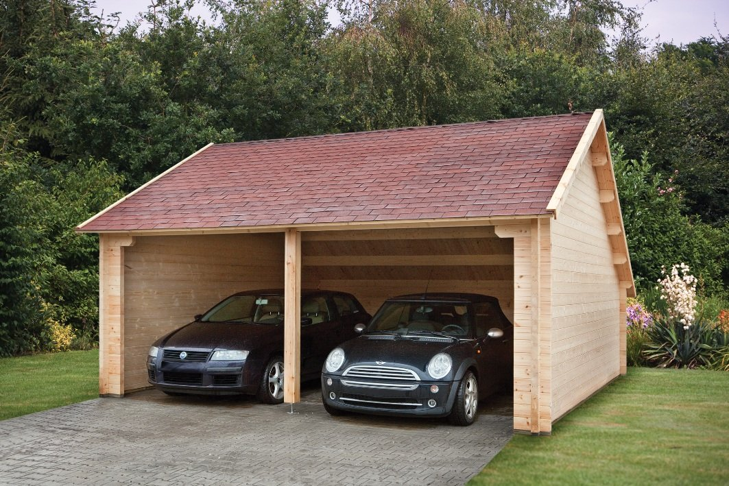 Log Field Barn Garage