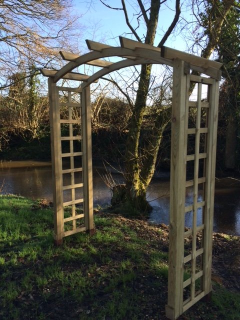 Mrs Shelly's Garden Arch 180cm
