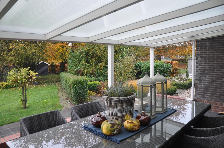 Aluminium Garden Veranda canopy 5m deep