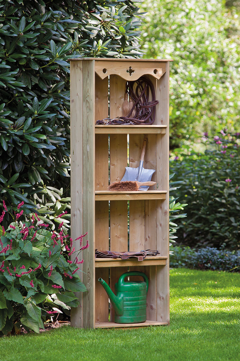 garden shelves. decorative garden storage shelves i