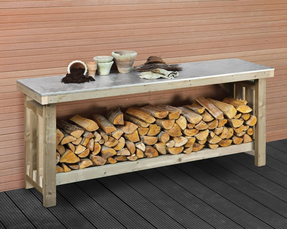 tierra bench images stunning sheds work garden ideas potting este benches