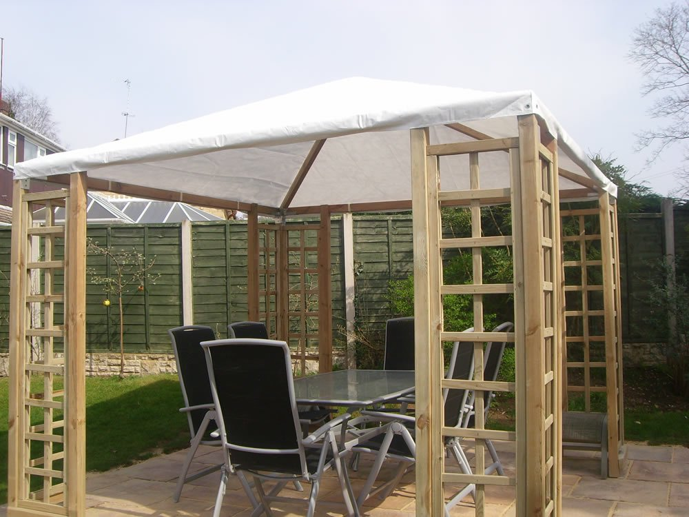 Gazebo / pergola and roof