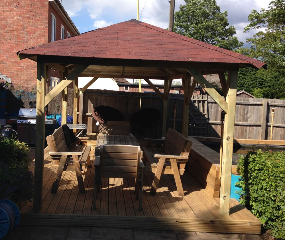 Superior Gazebo, a strong and sturdy gazebo for years of use