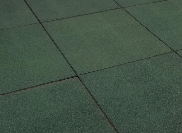 Green Out Door Play Tile