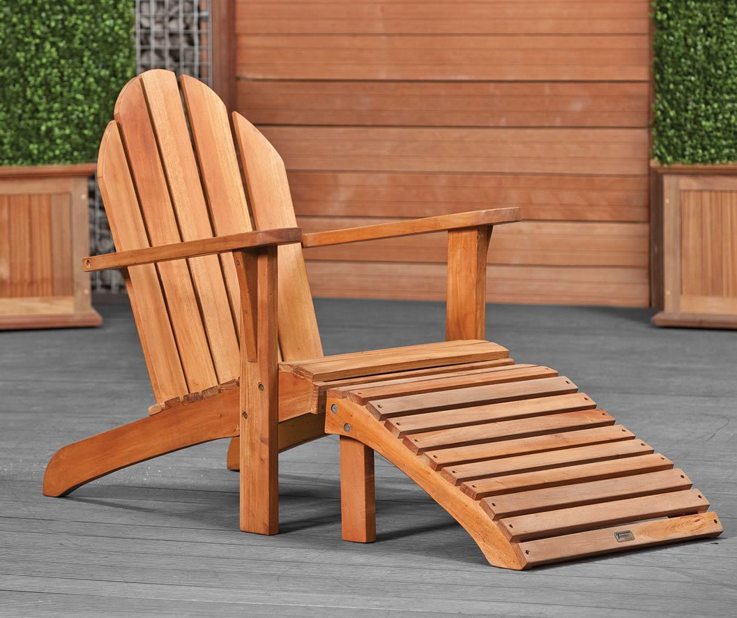 Hardwood relax chair