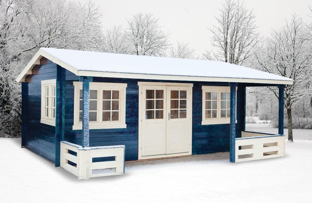 Henning Log Cabin