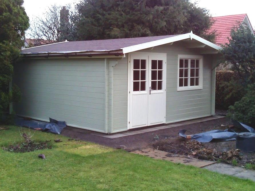 Hendrick log cabin 5x5m