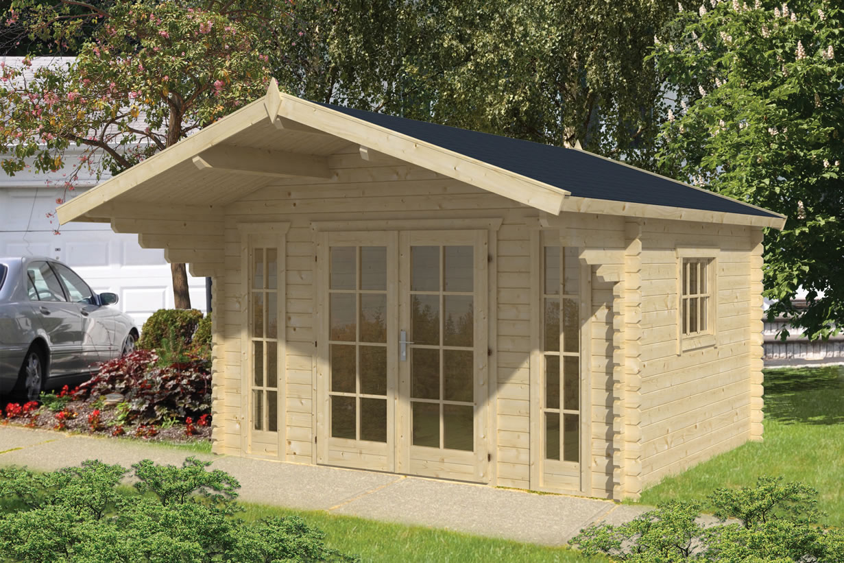 Inglund 45mm log cabin