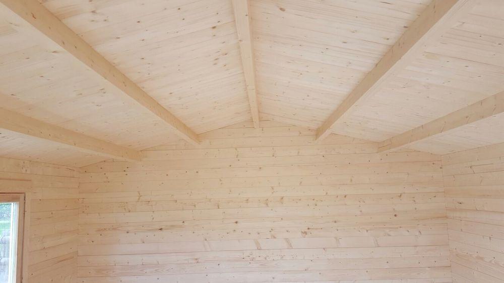 Ipswich log cabin inside
