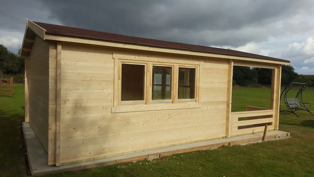 58mm Ipswich log cabin
