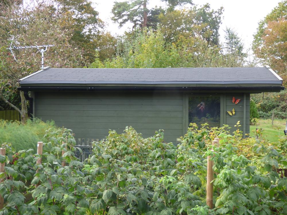 Julia 40mm log cabin