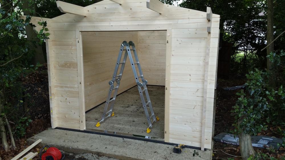Julia log cabin install