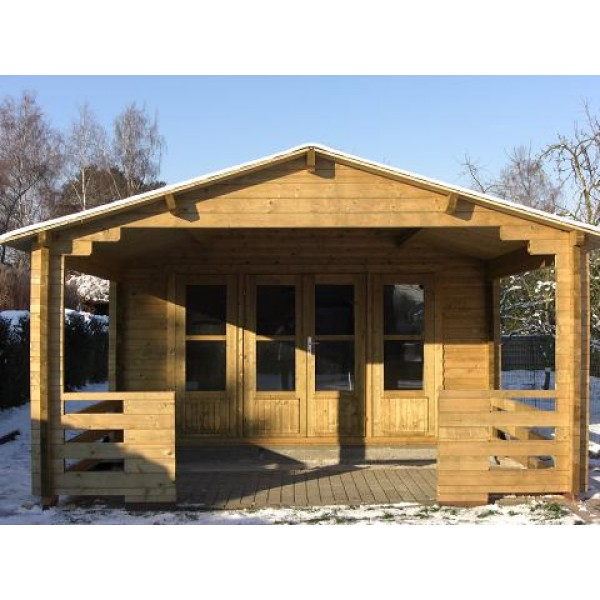 Leeds log cabin