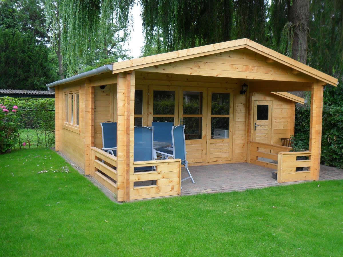 Manchester 58mm log cabin for How much to build a small cabin