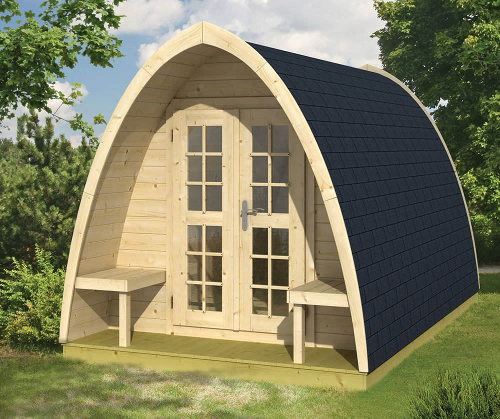 Ordinaire Camping Pod With Two Single Beds ...