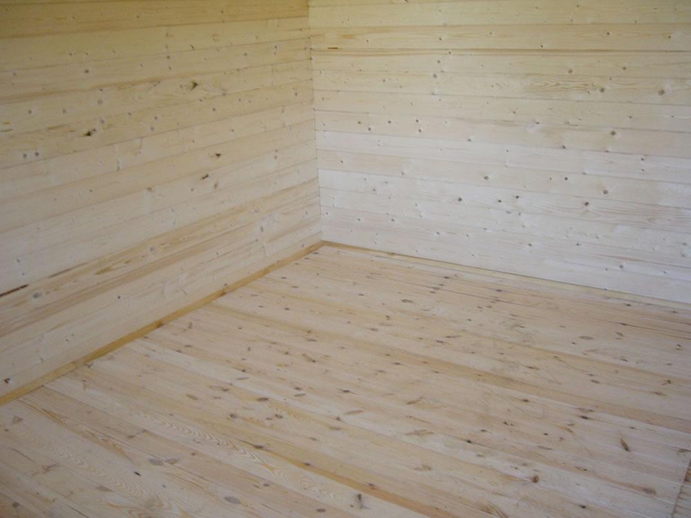 log cabin floor pack