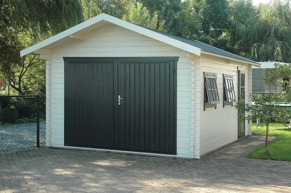 45mm Log Cabin Garage Geir