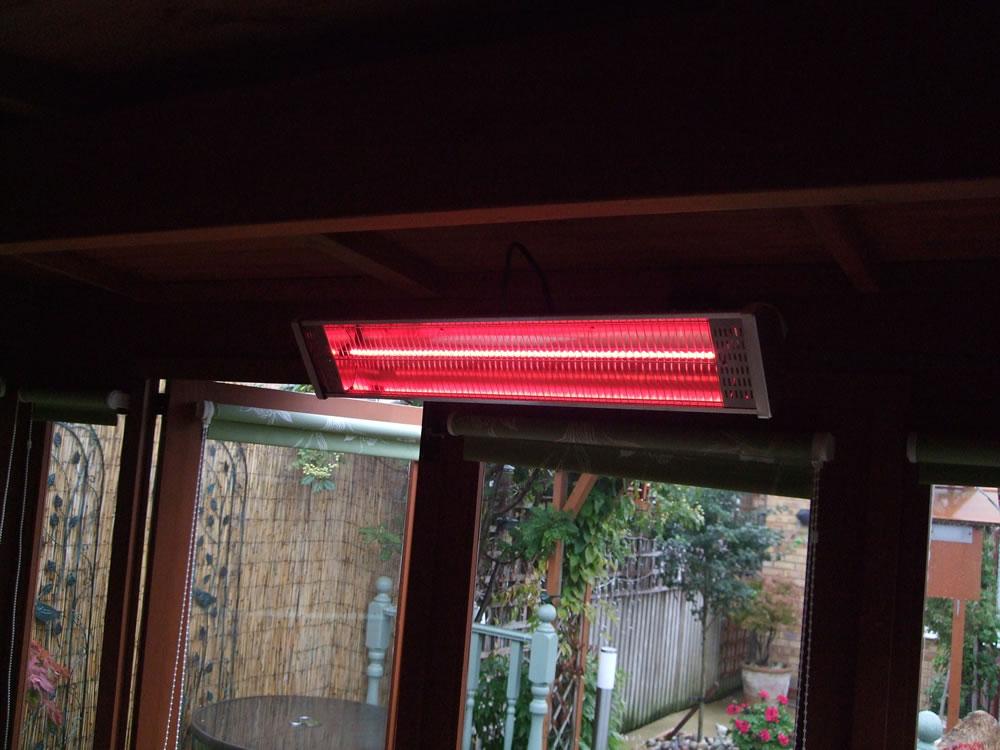 Log Cabin heater