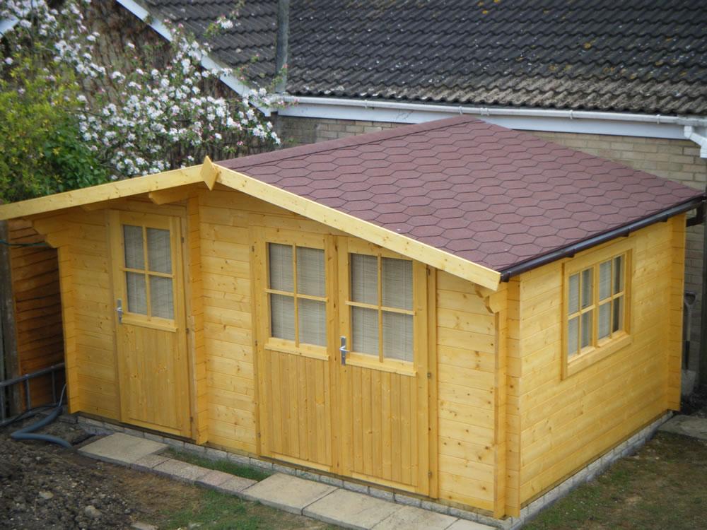 Lukas log cabin