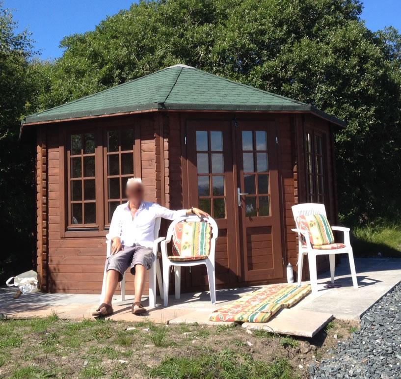 Lynn log cabin